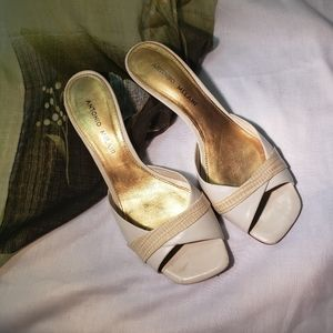Antonio Malanie perfect heels for mid dress outfit